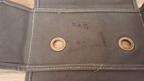 Help to identify a small WW2 Australian AIF pouch. Dated 1944. DD Marked
