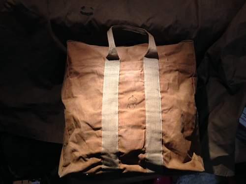 Dating a Parachute Bag