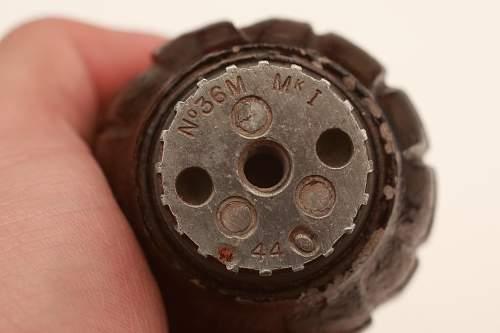 British grenades