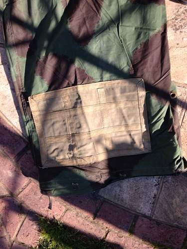 Post war tent camouflage ?