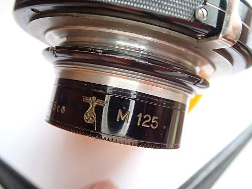 Third Reich Lens for technical camera