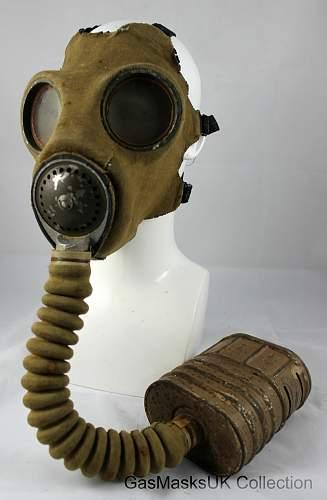 British MkIII Service Respirator