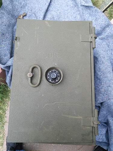 U.S. Field Safe