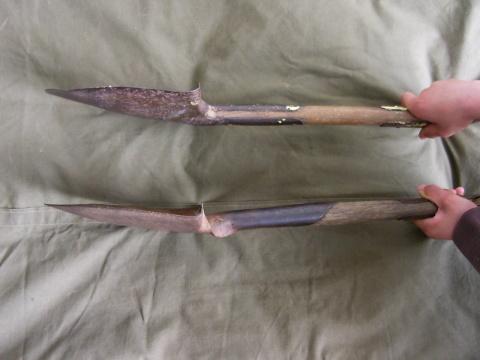 Mystery US T-handle shovel
