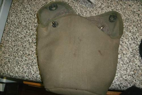 British made canteen cover?