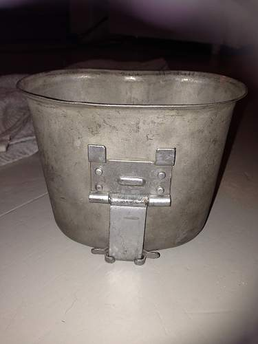 Canteen WW2 marked USA