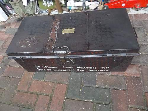 Interesting Trunk used by Father and son