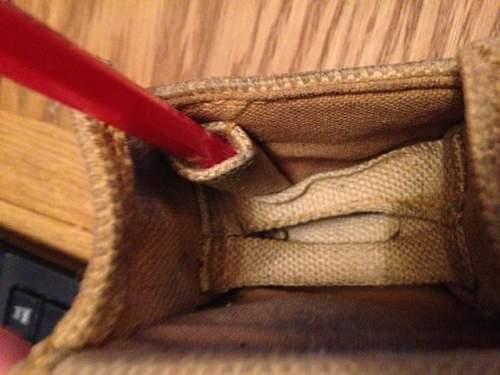 Unknown 1943 webbing pouch