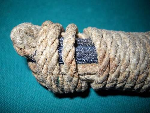 Britsh cleaning cord  pull throug ?