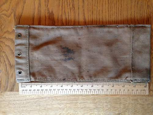 Mystery canvas pouch