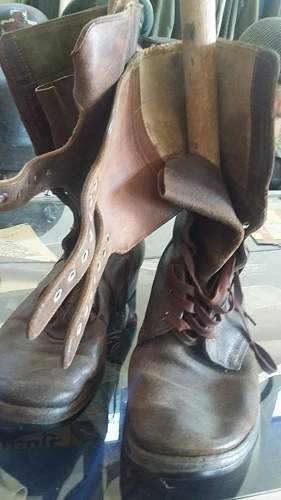 M.43 boots... ww2 era or post?