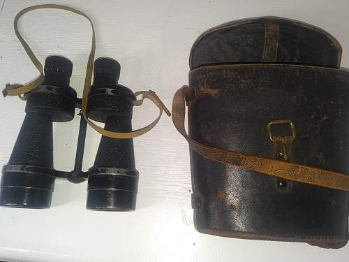 WW2 british binoculars?