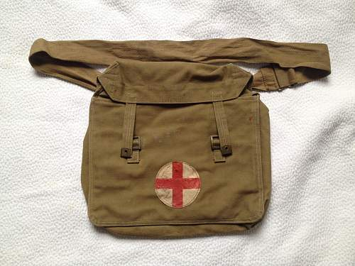 A.M. marked Surgical haversack