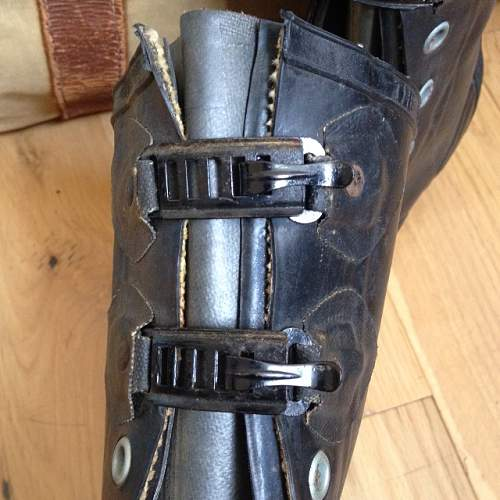 B.F Goodrich Rubber Co. - Rubber Boots 1945 / Broad Arrow / Canadian Army?