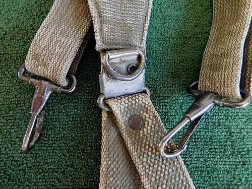 US web equipment suspenders