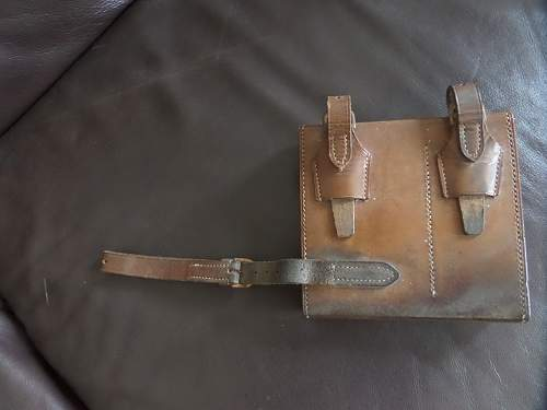 British Army 1914 dated pouch