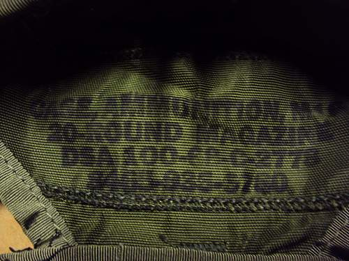 Click image for larger version.  Name:M67 Ammo Pouch-6.jpg.JPG Views:173 Size:165.2 KB ID:95469