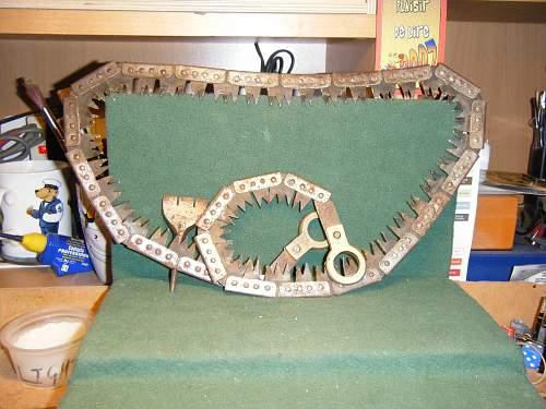 British WW2 Folding Saw
