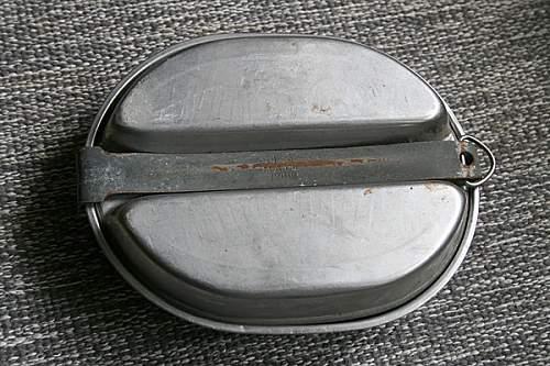 M1942 Mess tin Named