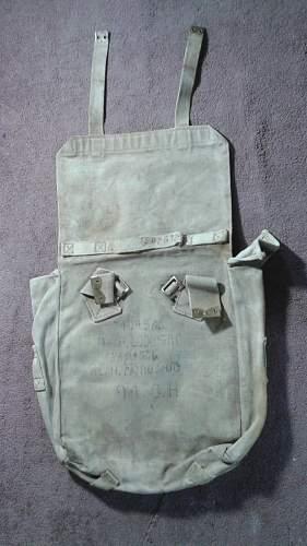 WW2 British Back Pack ???
