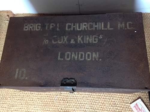 Churchill Named trunk