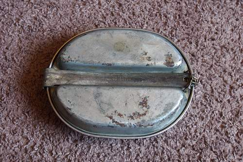 US mess kit 1942