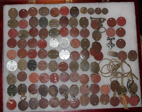 Canadian Dog Tag Collection