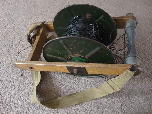 my latest find - cable reel frame