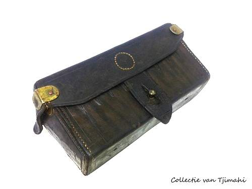 Dutch East Indie Ammunition Pouch for Infantry Model 1903
