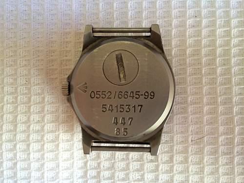 CWC G10 wristwatch