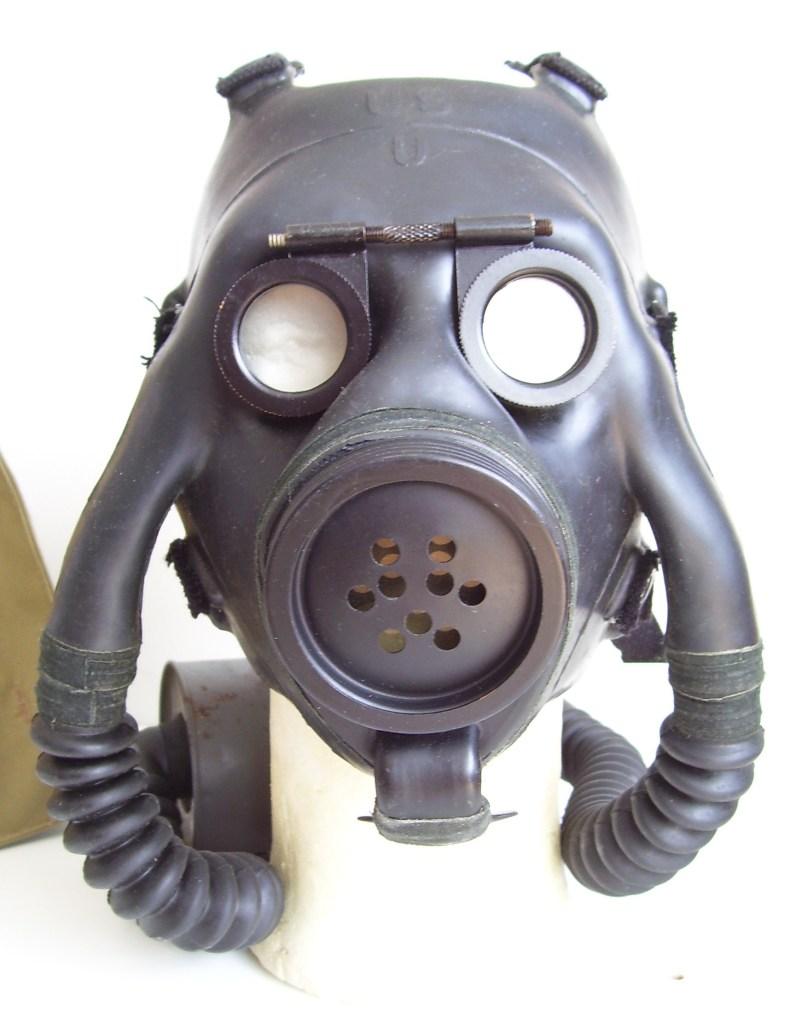 east german gas mask bag