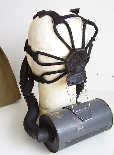 U.S. M1-1-5 Optical Gas Mask