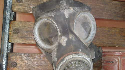 Help cleaning british gas mask
