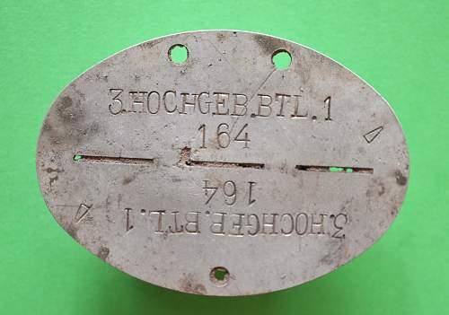 3 Hochgebirgs-Battalion 1