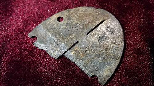 Help Identifying WWII Dug SS Relic ID Discs Tags