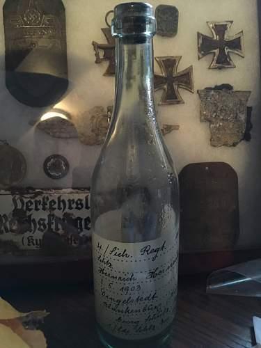 EKM in a bottle