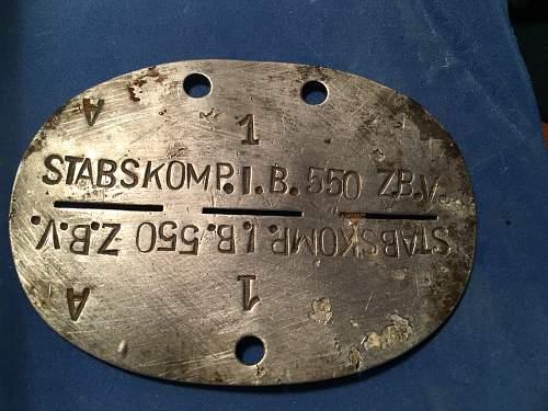 Stabs Kompanie Infantry Btl 550 ZBV
