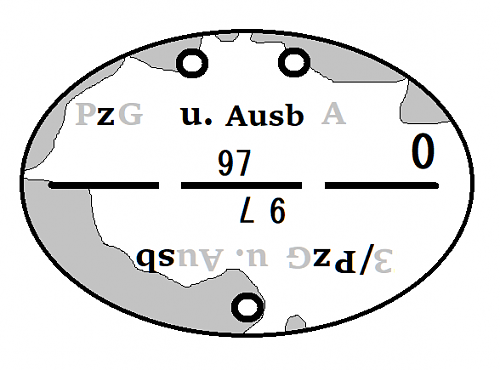 Very rough shape ID disc