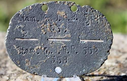 5 pieces Erkennungs marken