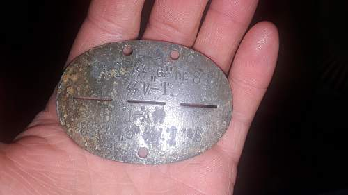 SS Germania dog tag genuine or not?