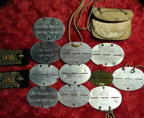Infanterie-Ersatz-Bataillon 220 erkennungsmarke