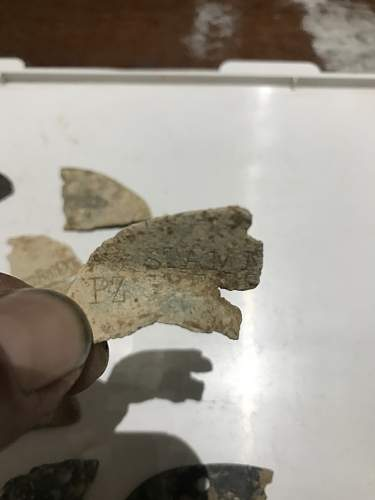 Recent found pieces EKM