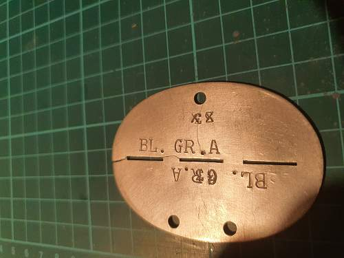 German dogtag identification help