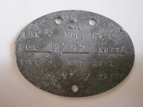 Erkenungsmarke NSKK real or fake