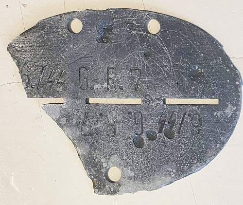 Help Identify an SS ID disc