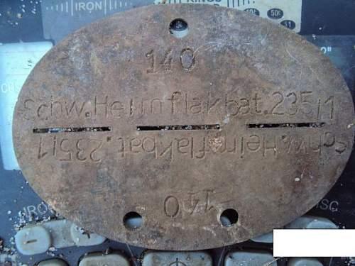 Schwere heimat flak bat 235/1