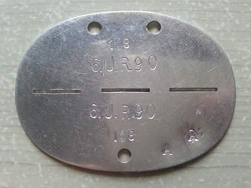 6. IR. 90 ID disc