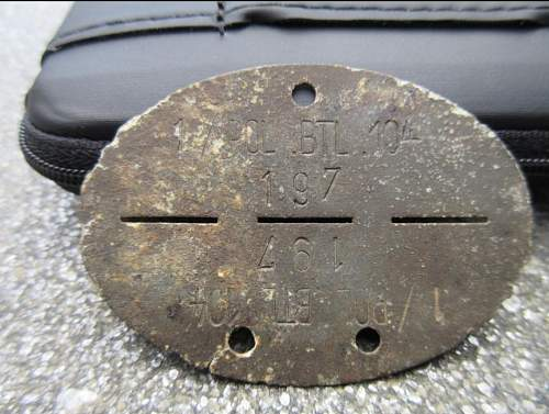 Autopsy of Erkennungsmarke Politzei Battaillon 104