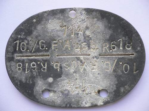 Officer ID tag.