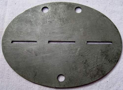 Need help id panzer and kriegsmarine dog tags